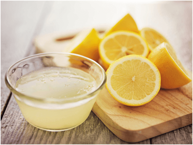 coconut-oil-and-lemon-juice