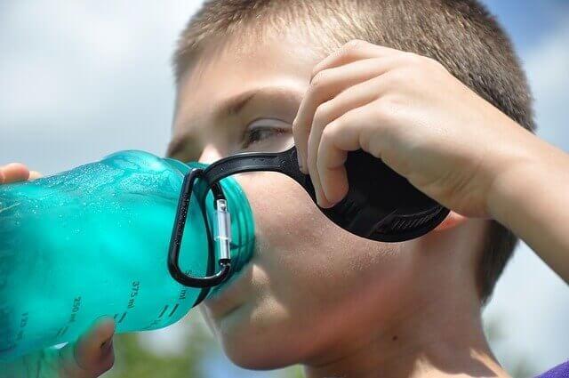 Thirst-boy-drinking