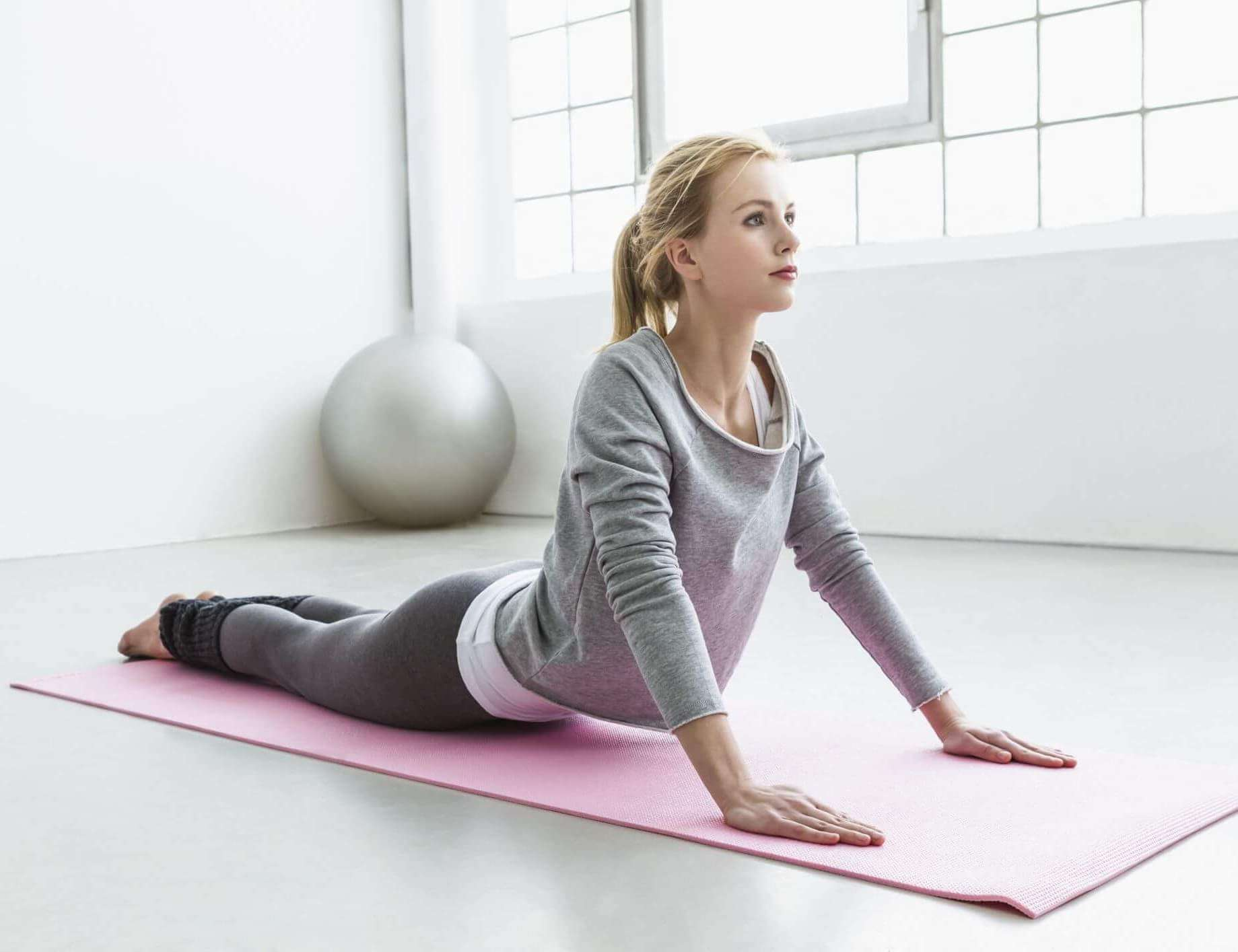 Yoga-backpain