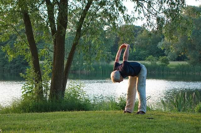 yoga-exercise-garden