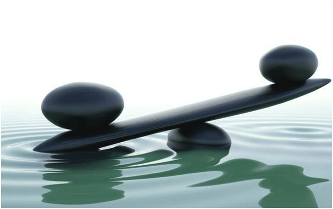 Balancing Spa Stones