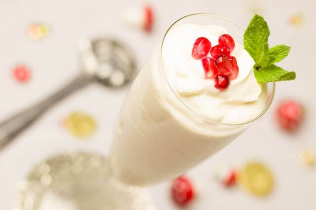 Yoghurt with Rasberry fruit
