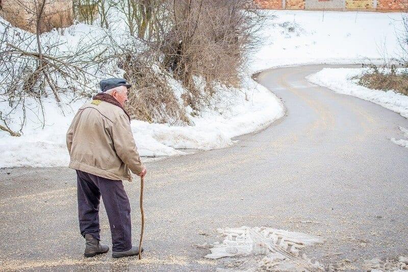 Grandpa-walking