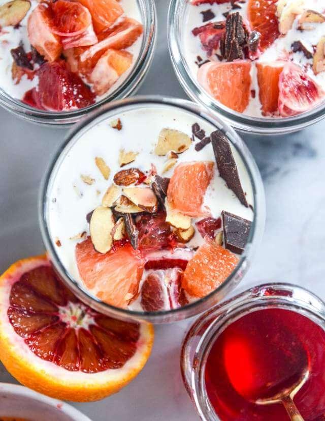 Orange Vanilla Chia Bean Pudding