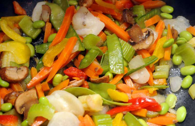 Vegetables fry