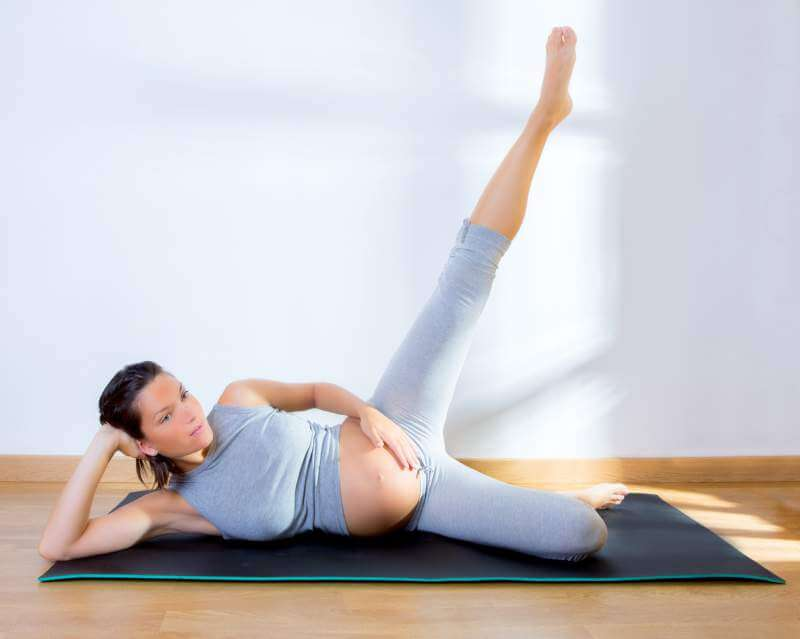 Pilates pregnant women