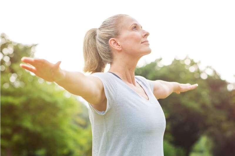 mature-woman-yoga-exercise