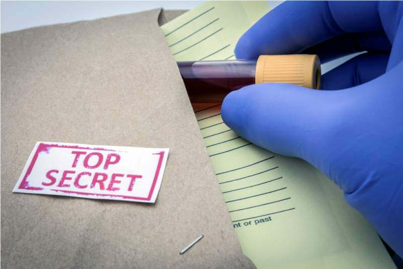 test-for-research-of-blood-top-secret