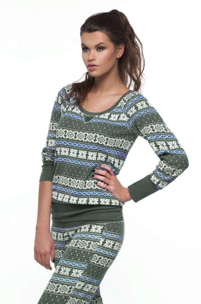 woman-in-pajamas