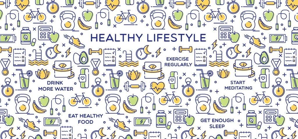 Healthy Lifestyle Conceptual