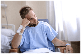 Men After Accident In Hospital
