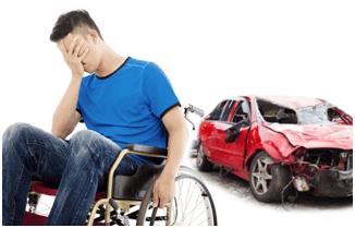 Men After Car Accident