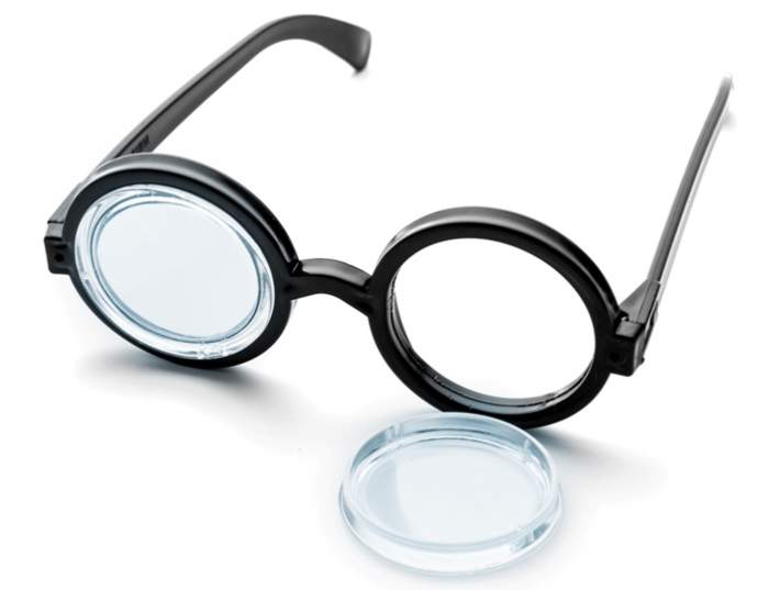 broken-black-round-glasses