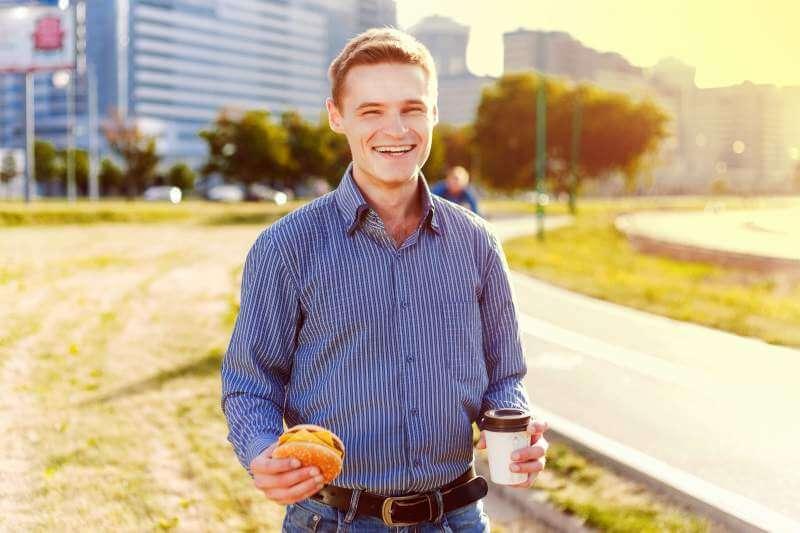 man-bites-freelancer-sandwich-with-coffee