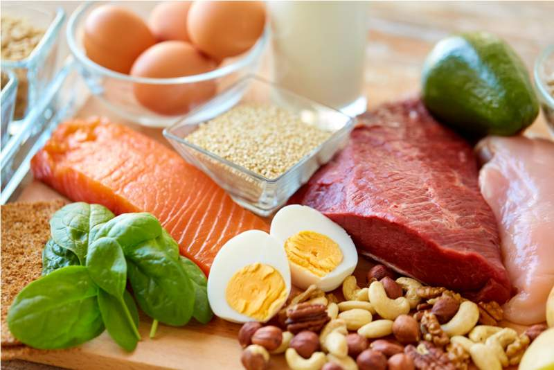 natural-protein-food-on-table