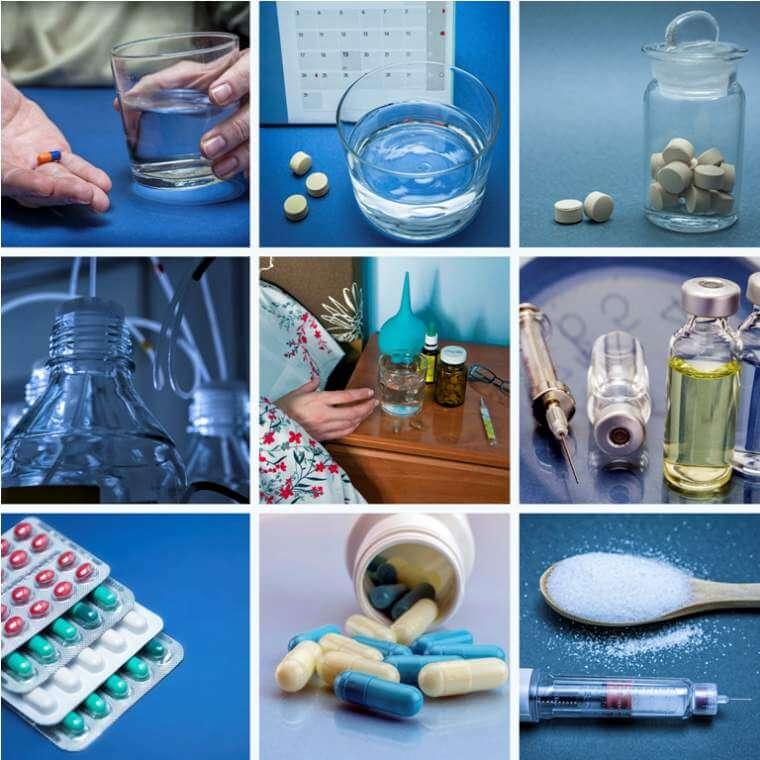 pills-collage-medicine-and-health