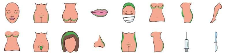 surgery areas