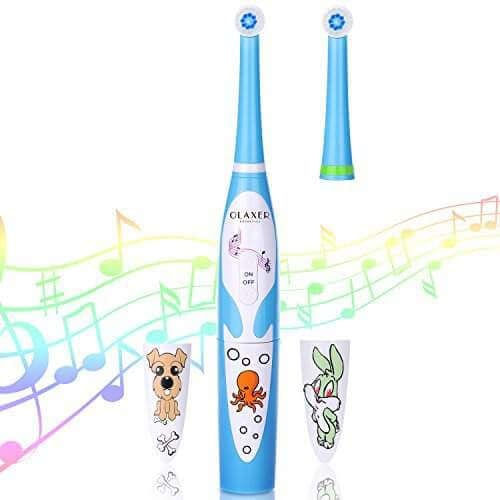 Olaxer electric kids toothbrush