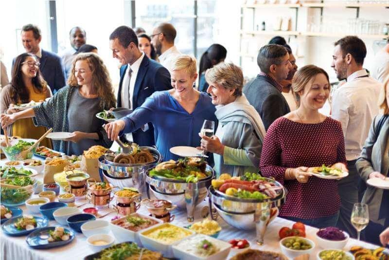 diversity-people-enjoy-buffet-party