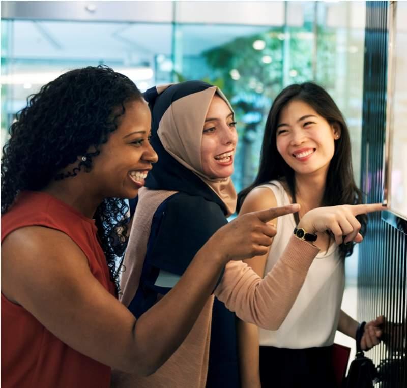 group-of-women-shopping