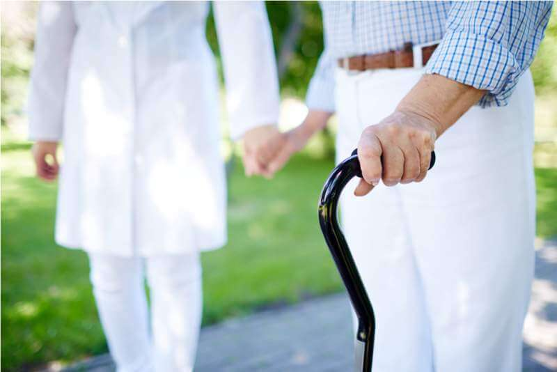 walking-with-cane
