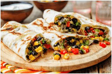 Vegetable Burritos