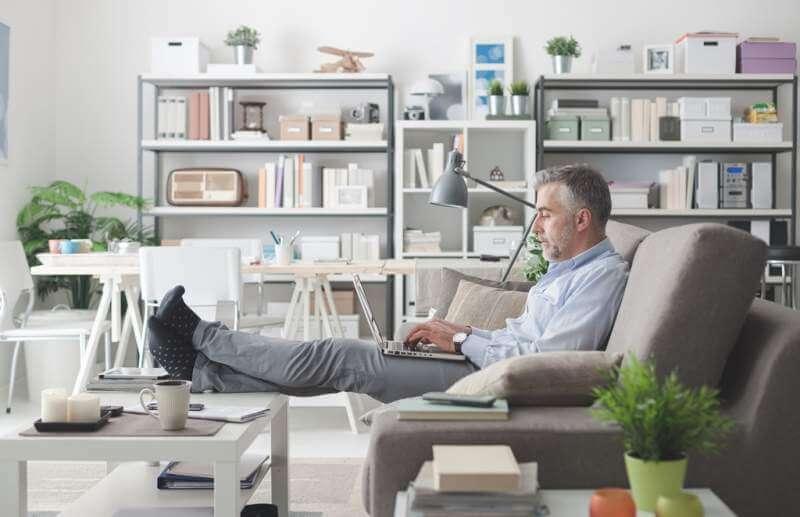 businessman-working-at-home