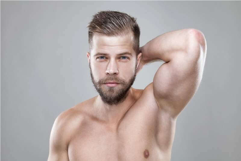 portrait-of-young-bearded-man-with-a-new-hair-cut
