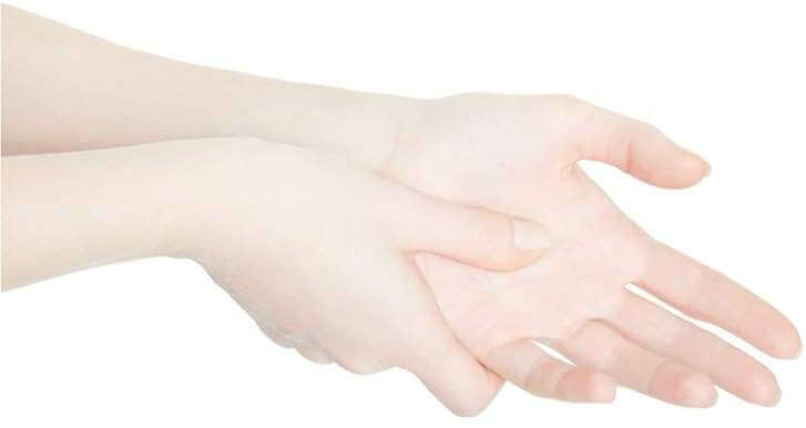 woman-hand-touching-with-thumb-the-painful-palm