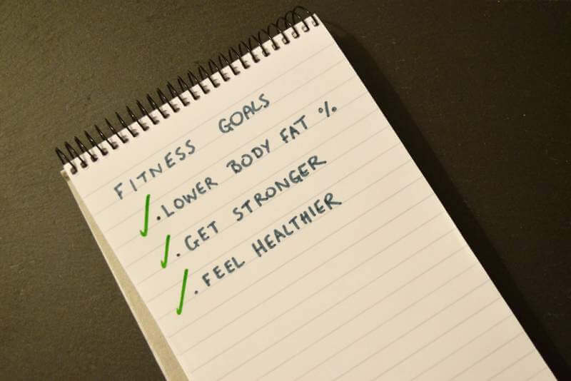 Fitness Goals-note