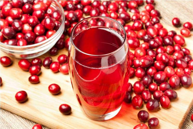 fresh-organic-cranberry-juice