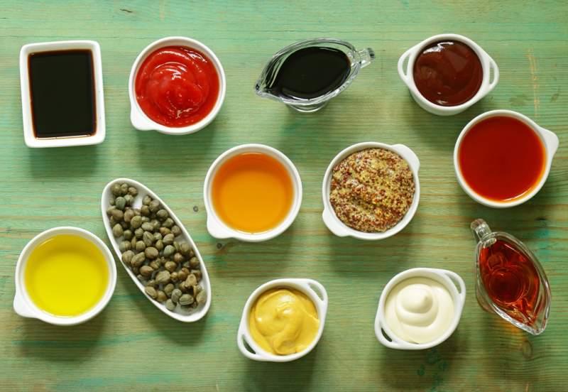 sauces-various