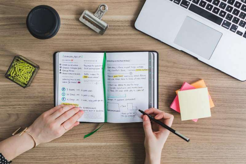 Journal writing is a healthy habit