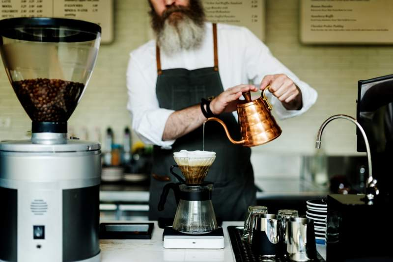 coffee-cafe-barista-apron-uniform-brew
