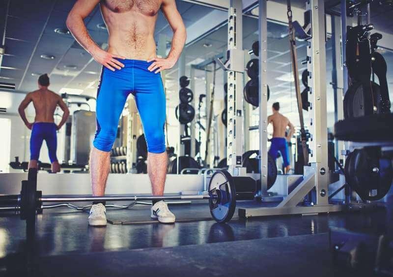 sportsman-in-gym