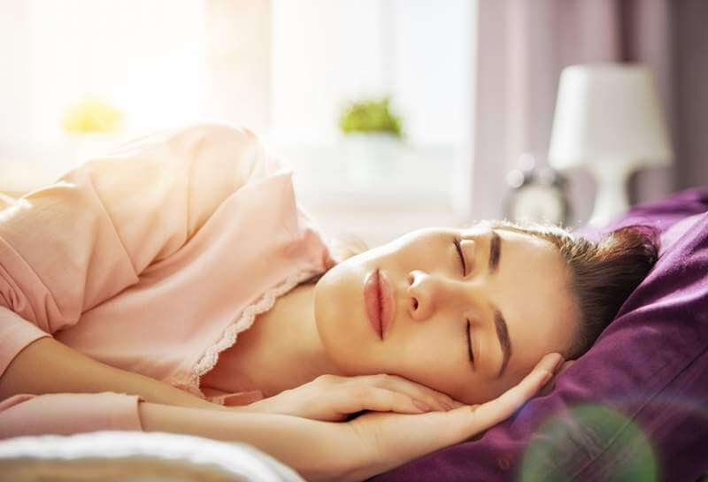 woman-sleeping-sunny-morning
