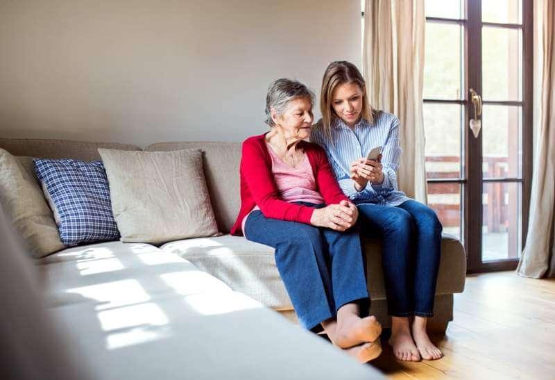 elderly-grandmother-and-adult-granddaughter