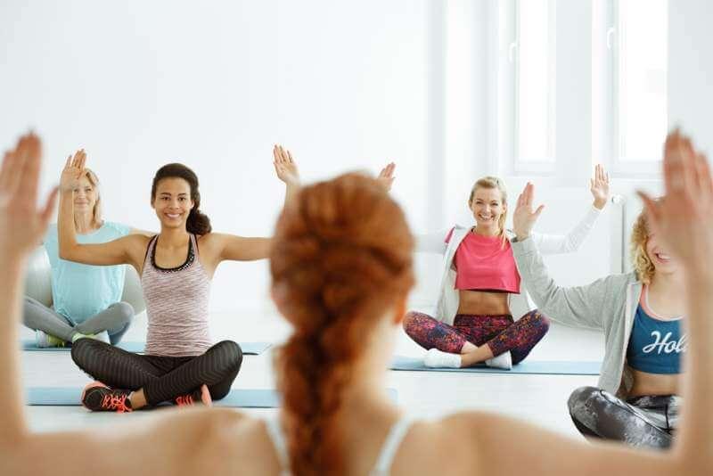girls-during-yoga-classes