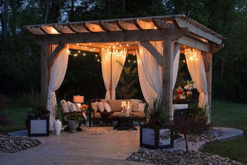 Garden-canopy-decoration