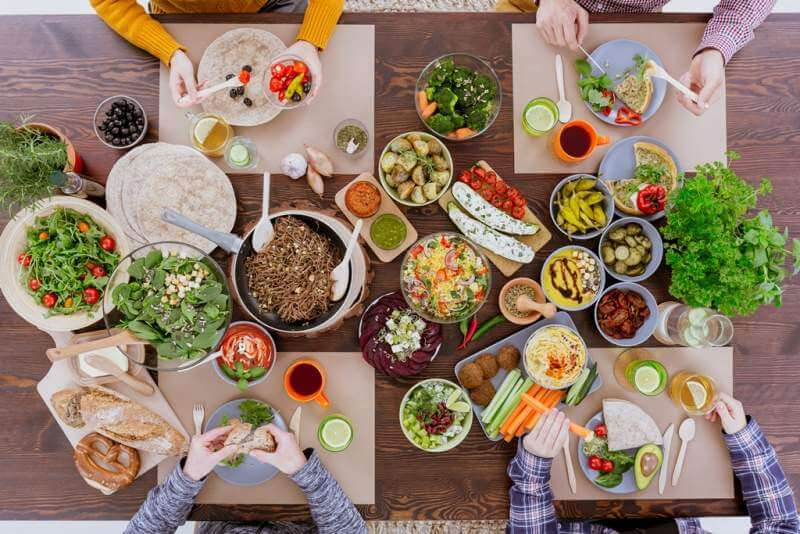 colorful-vegetarian-meal