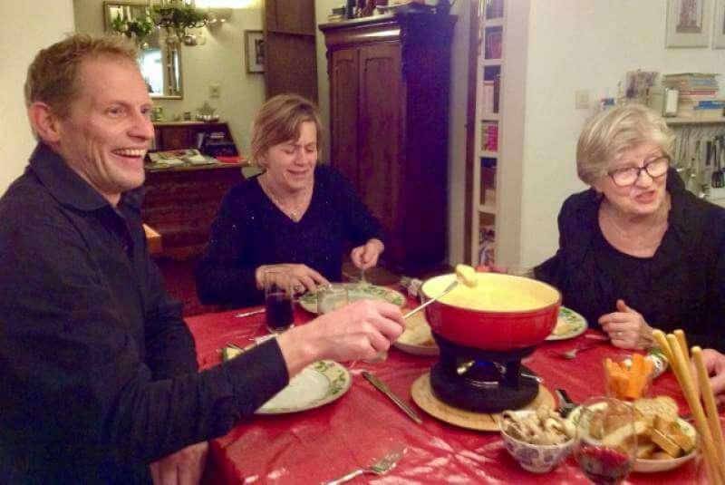 A very nice family dinner